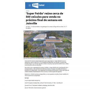 Rotas Comunicação - NSC Total