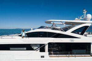 """Rotas Comunicação - Náutica – Linha """"Grande"""" da Azimut Yachts recebe segunda premiação internacional"""