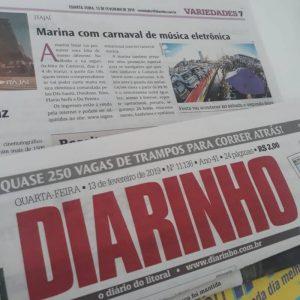 Rotas Comunicação - Jornal DIARINHO
