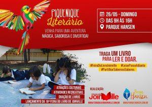 Rotas Comunicação - Parque Hansen reúne escritores infantis e doação de obras literárias neste domingo