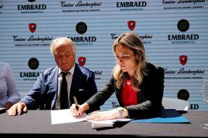 Rotas Comunicação - Luxo – Tonino Lamborghini assina contrato com a EMBRAED