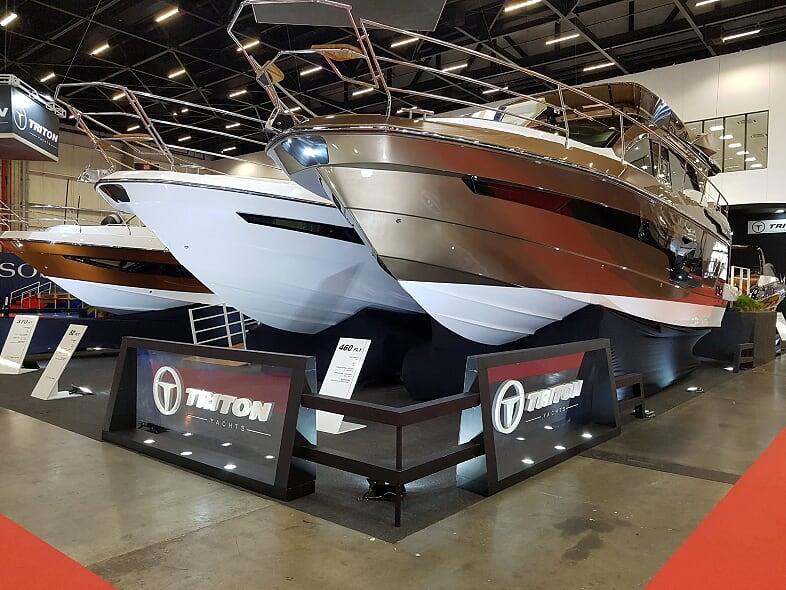 Rotas Comunicação - Náutica – Triton Yachts registra aumento de 20% em vendas de barcos no São Paulo Boat Show