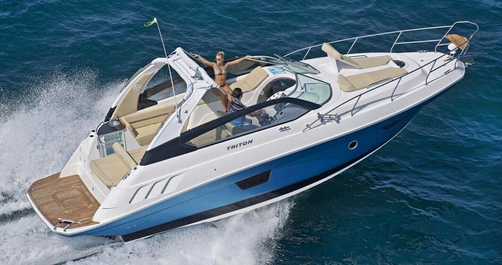 Rotas Comunicação - NÁUTICA – Fabricante Triton Yachts apresenta dois barcos inéditos no Riviera Boat Week