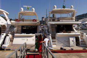 Rotas Comunicação - Eventos – Feira de barcos seminovos no litoral de Santa Catarina continua no fim de semana