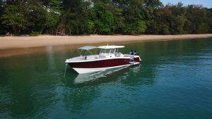 Rotas Comunicação - NAUTICA – Embarcação brasileira é exposta em feira náutica na Tailândia