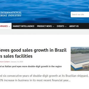 Rotas Comunicação - International Boat Industry – Europa