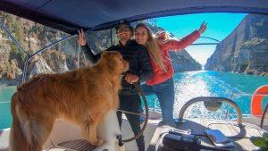 Rotas Comunicação - ESTILO DE VIDA – Famoso casal de velejadores faz palestra gratuita em Itajaí (SC)