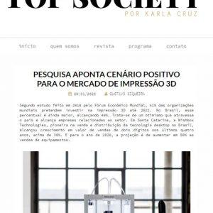 Rotas Comunicação - Top Society