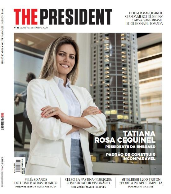Rotas Comunicação - CONSTRUÇÃO CIVIL – Empreendedorismo feminino na construção civil é reportagem de capa da THE PRESIDENT