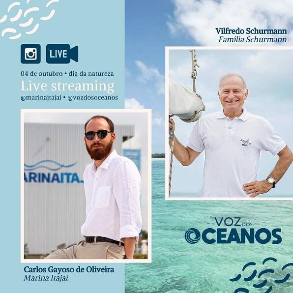 Rotas Comunicação - NAUTICA – Sustentabilidade é tema de live com a Família Schurmann e a Marina Itajaí neste domingo, 4
