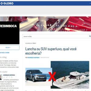Rotas Comunicação - O Globo