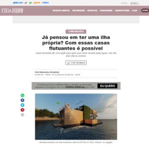 Rotas Comunicação - Casa e Jardim – Globo