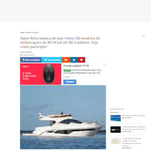 Rotas Comunicação - Desejo de luxo – IG